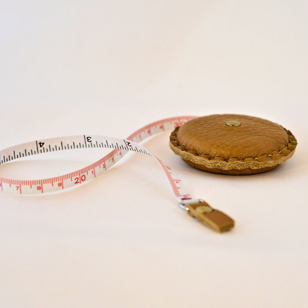 Leather Covered Tape Measure