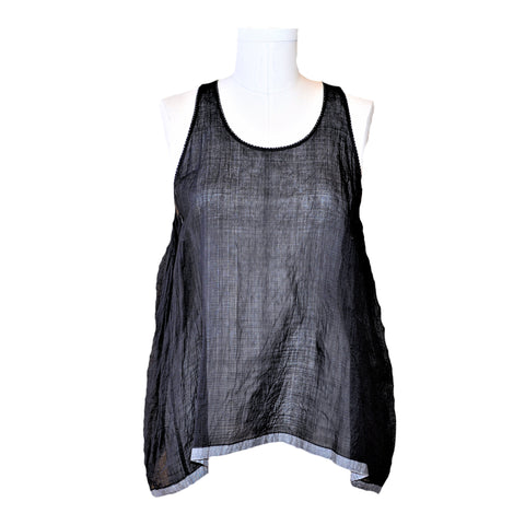 injiri Core Sada-115 Baniyaan Top (Black)