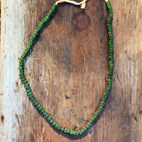 Green Bead Hill Tribe Necklace