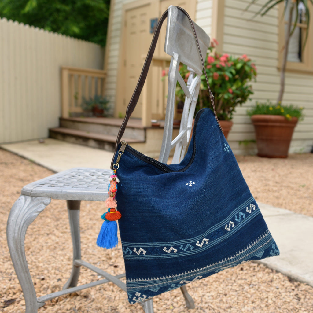 Cotton Indigo Bag