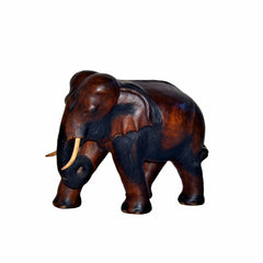 Hand Carved Elephant Figure (18 inch)