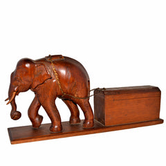 Antique Elephant Box