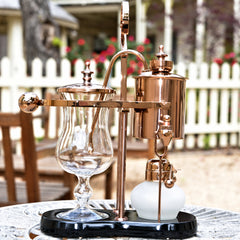 Royal Belgium Coffee Maker (Rose Gold/Copper)