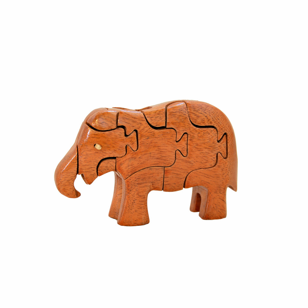Wooden Animal Three Dimensional Puzzle