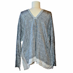 injiri Dhordo - Tribal Long Linen Top