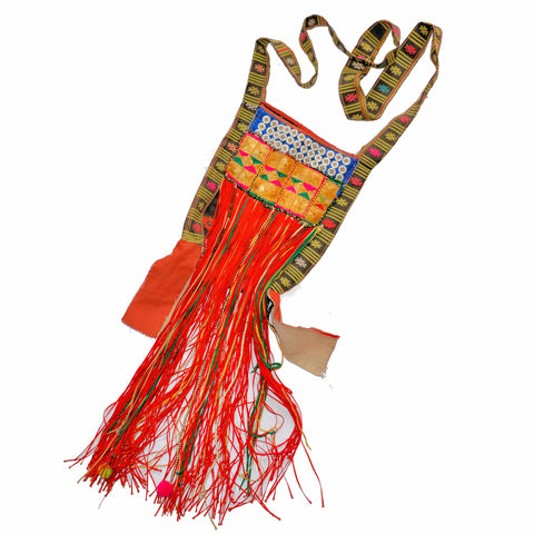 Vintage Kachin Yam (Shoulder Bag) with Tassels