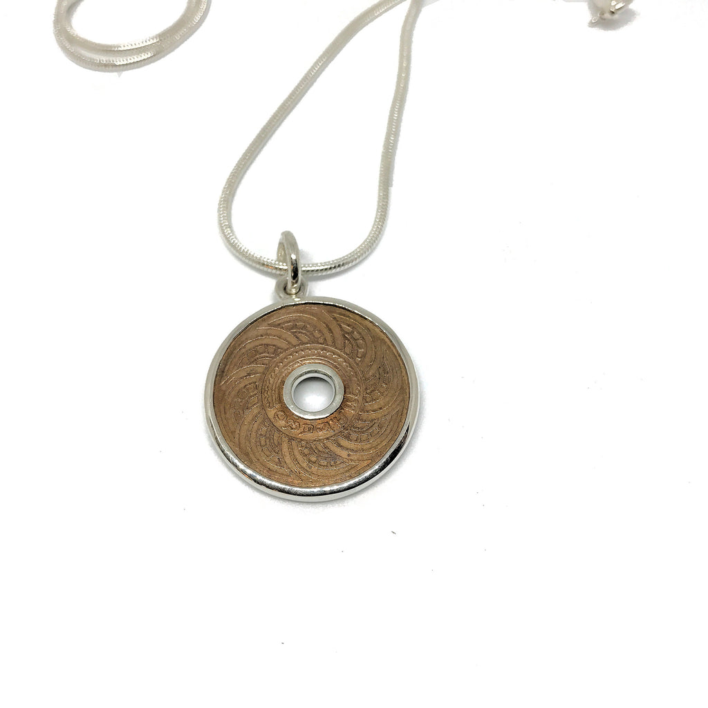 Thai Copper Coin Necklace