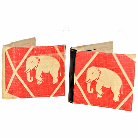 Elephant Cement Men's Wallet
