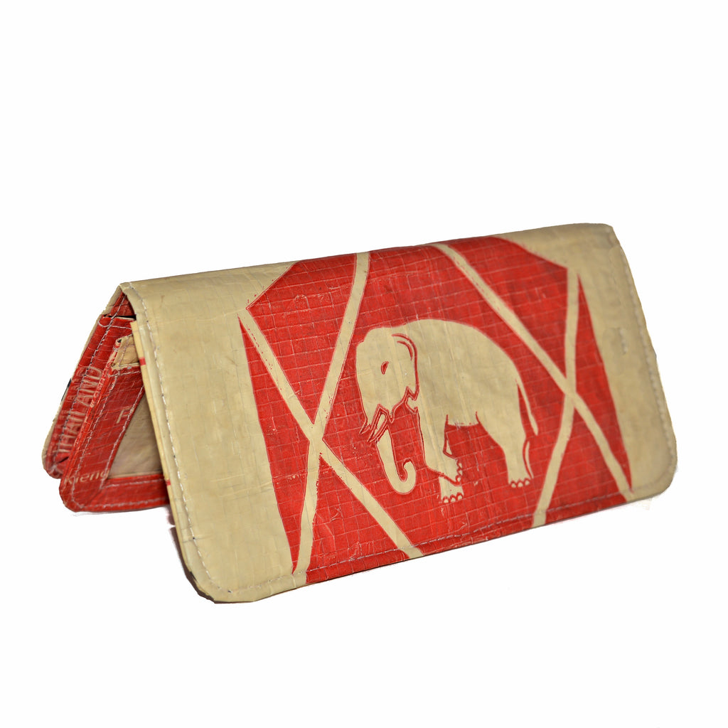 Elephant Cement Woman's Wallet