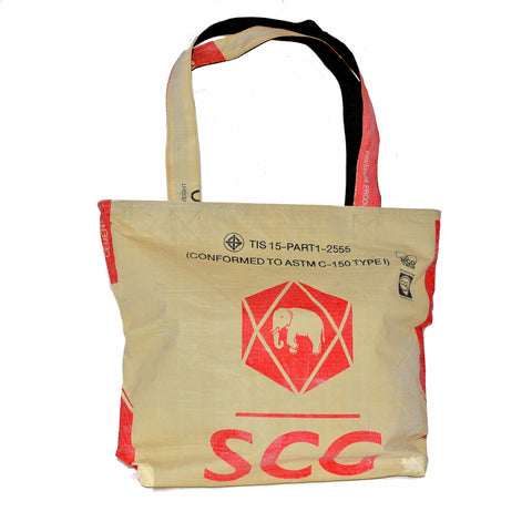 Elephant Cement Tote Bag