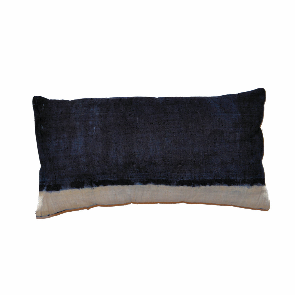Indigo Hill Tribe Fabric Pillow