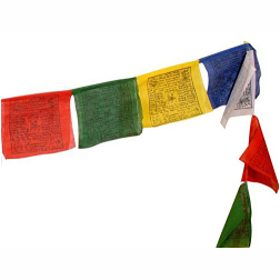 Bhutanese Buddhist Prayer Flags The Elephant Story