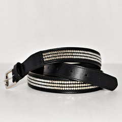Studded Belt - Chrome Studded