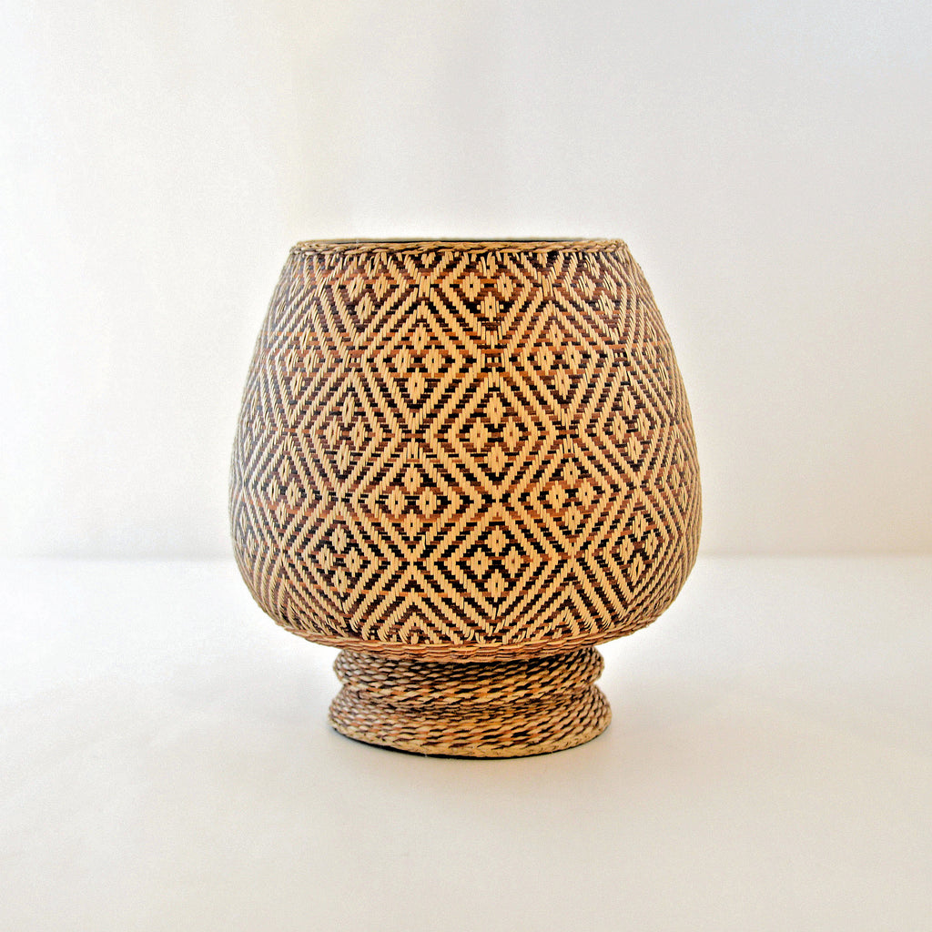 Nan Weave Monk's Bowl (Star pattern)