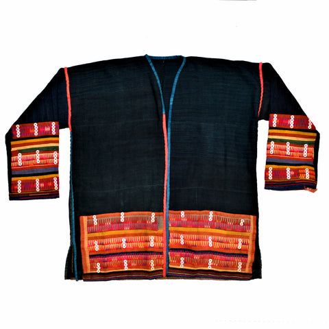 Vintage Akha Hill Tribe Jacket