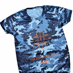 Blue Digital Camo Yant Tee