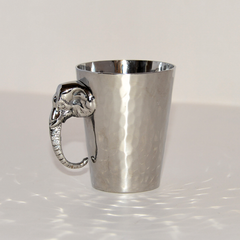 Stainless Steel Cup with Elephant Handle