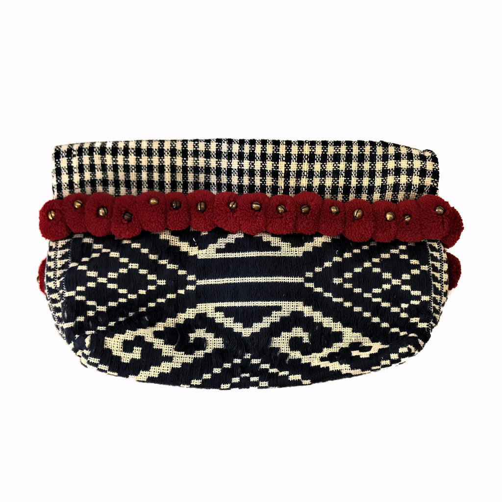 Hmong Hill Tribe Folding Clutch