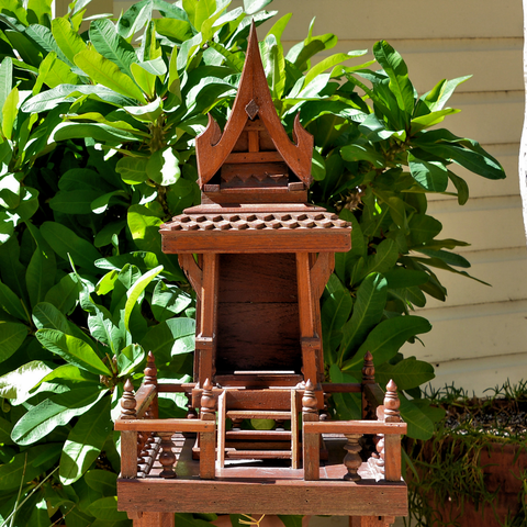 Thai Spirit House (one peak)