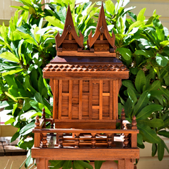 Thai Spirit House (two peaks)