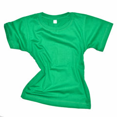 Childrens Cotton T-Shirt - Green