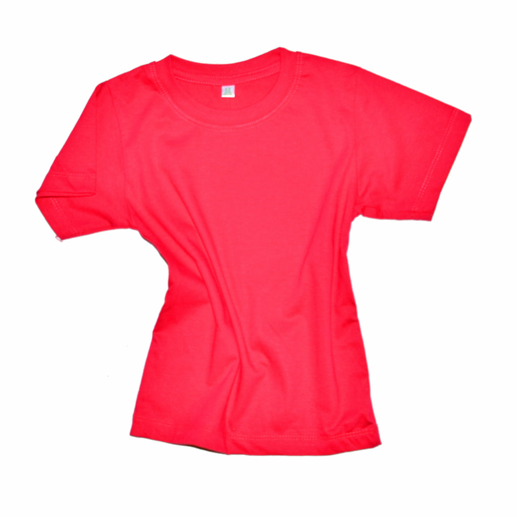 Childrens Cotton T-Shirt - Hot Pink