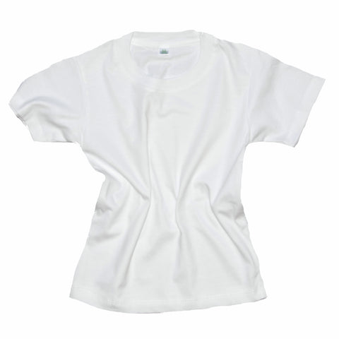 Childrens Cotton T-Shirt - White