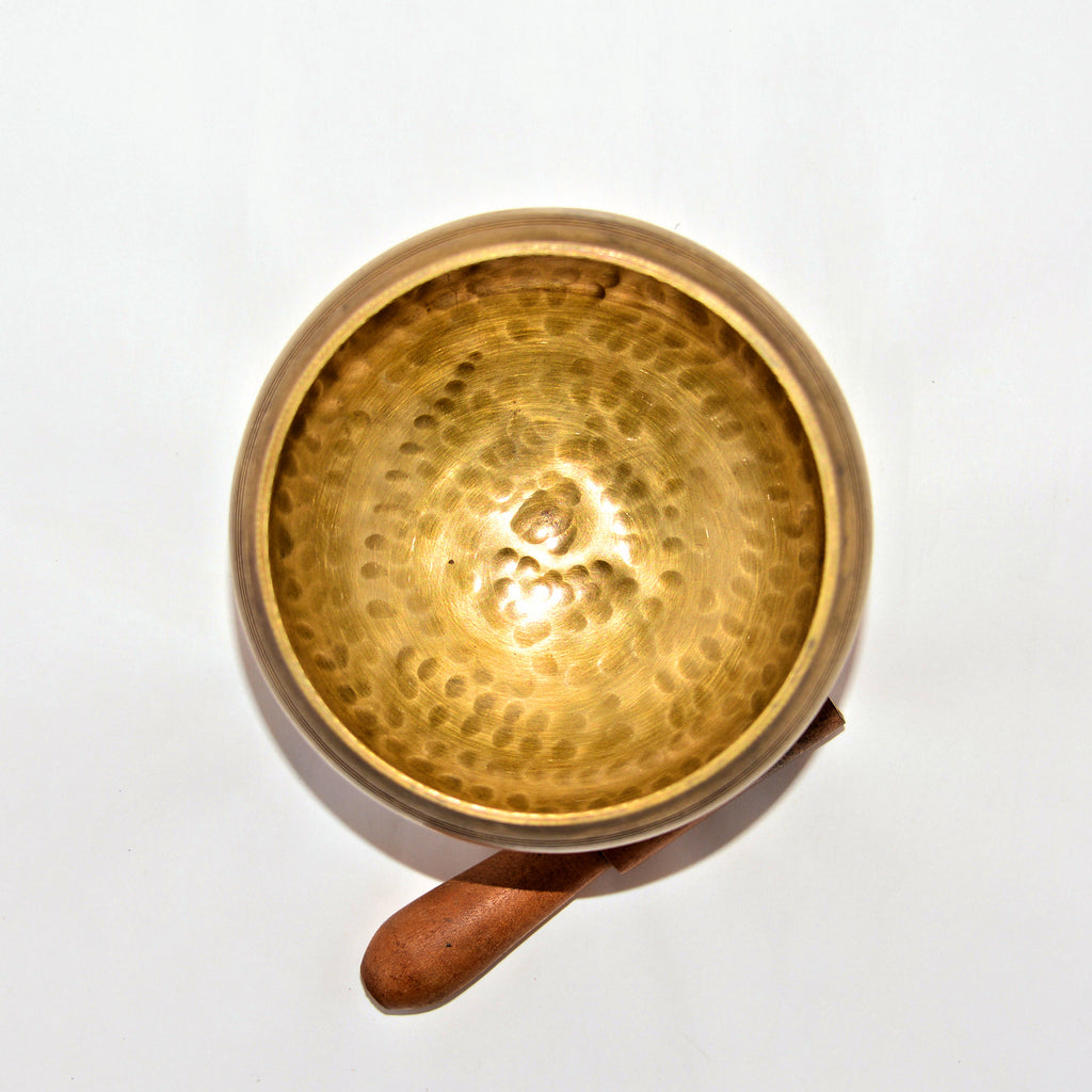 Tibetan Singing Bowl with Stand 5.3""