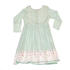 injiri Guler 23 - Mint Cotton Dress