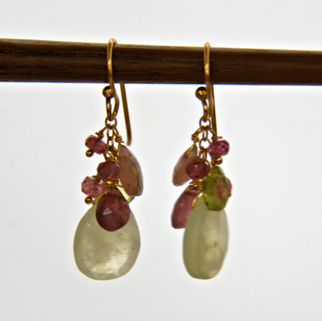 Perinite Mixed Gem Earrings