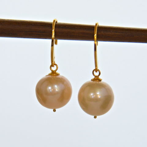 Pearl French Hook Earrings