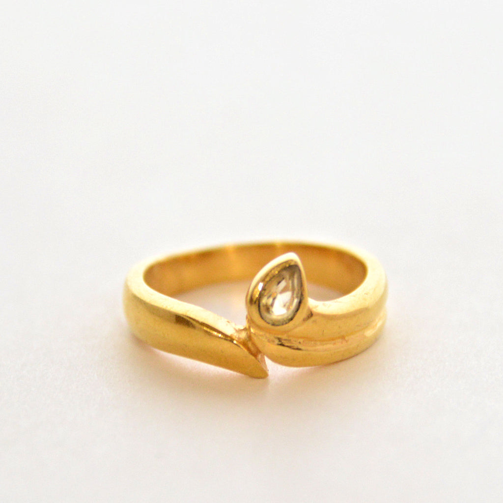 Gemstone Ring - Yellow