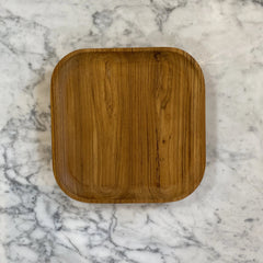 Large Square Wood Tray