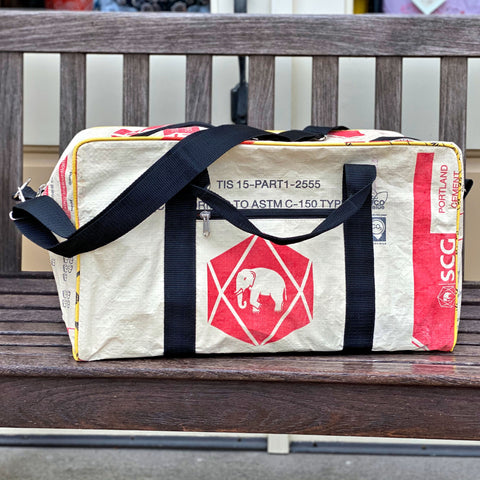 Elephant Cement Carry-on Bag