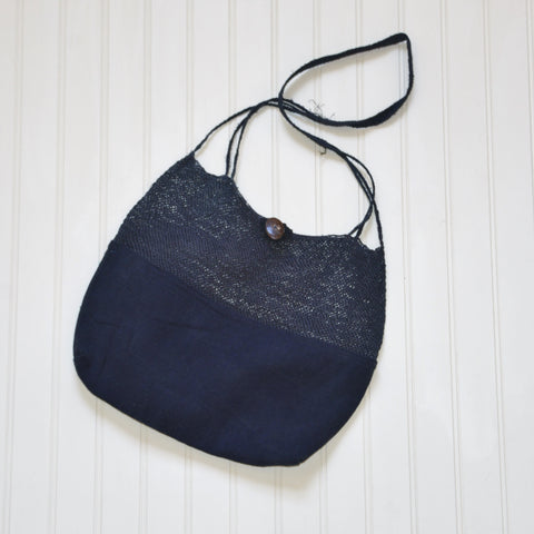 Indigo Hemp Bag