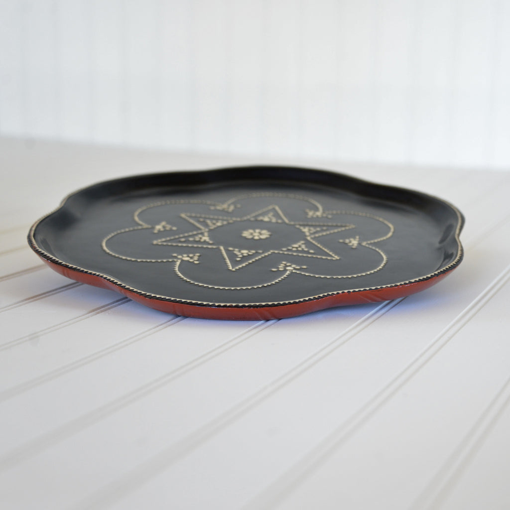 Burmese Lacquerware Serving Tray