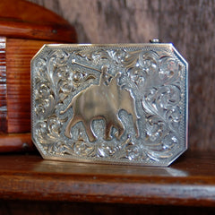 Clint Orms Belt Buckle - Comanche-Custom