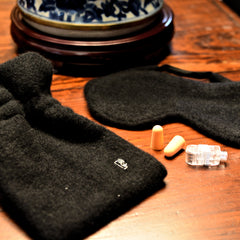 Mongolian Gobi Wool Cashmere Sleeping Mask Set