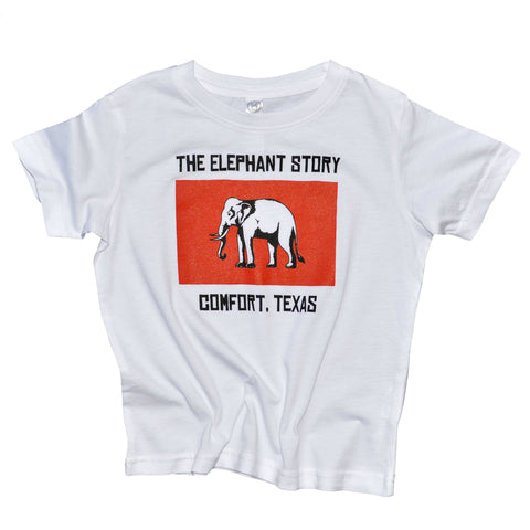 The Elephant Story Siam Flag Tee