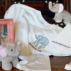 Rueang Jay T-Shirt and Stuffed Elephant Plush Toy