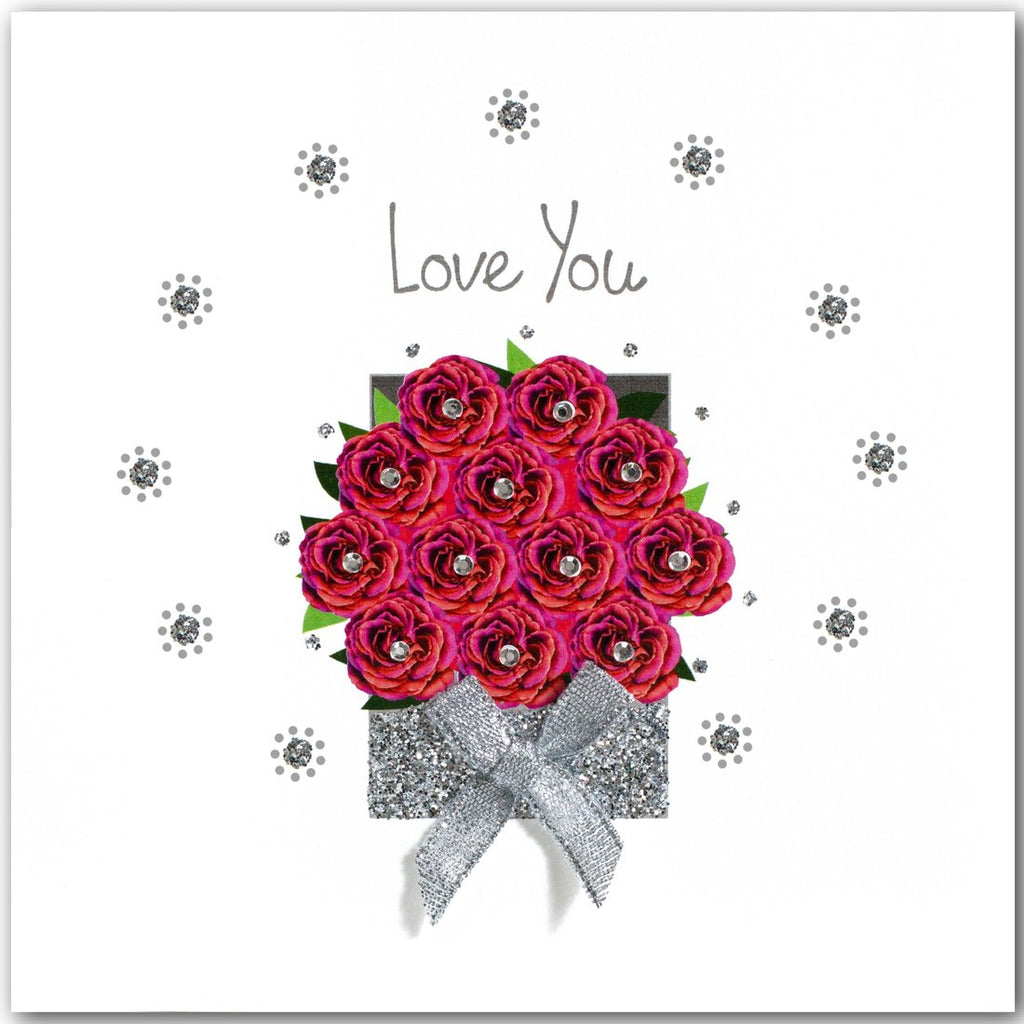 Jaab Cards - Rose Box Love You