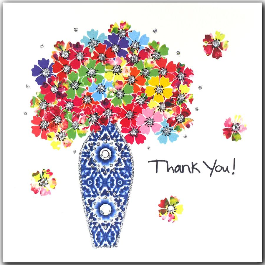 Jaab Cards - Thank You Flowers