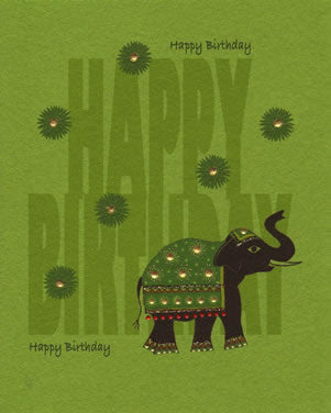 Jaab Cards - Birthday Elephant