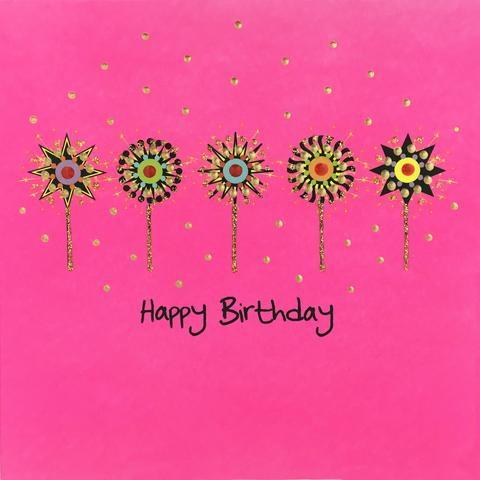 Jaab Cards - Birthday Sparkle