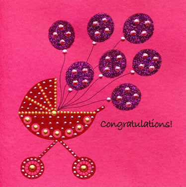 Jaab Cards - Baby Balloons