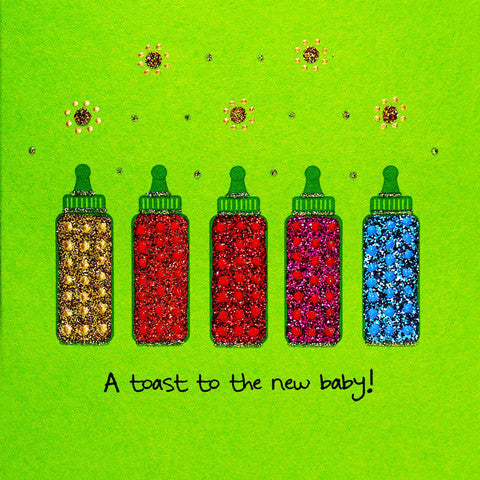 Jaab Cards - Baby Bottles
