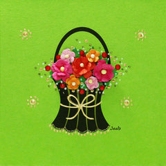 Jaab Cards - Flower Basket