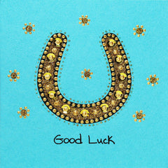 Jaab Cards - Good Luck Horseshoe