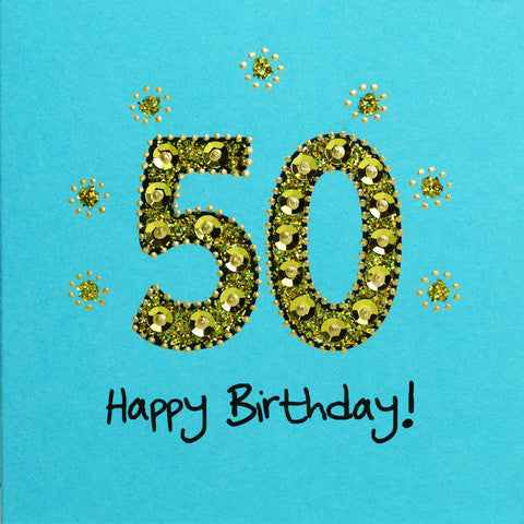 Jaab Cards - 50th Birthday Card