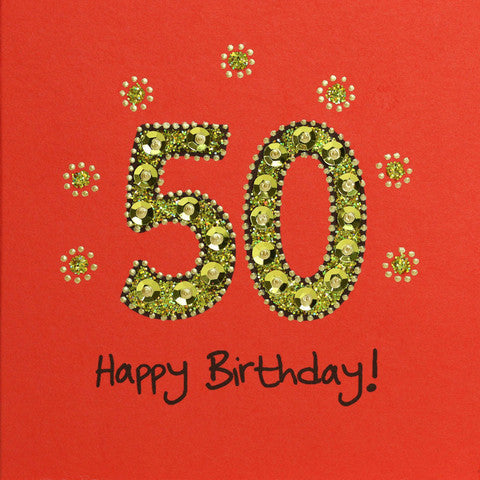 Jaab Cards 50th Birthday Card The Elephant Story